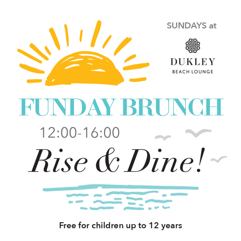 <b>SUNDAYS</b> at <b>Dukley Beach Lounge</b>