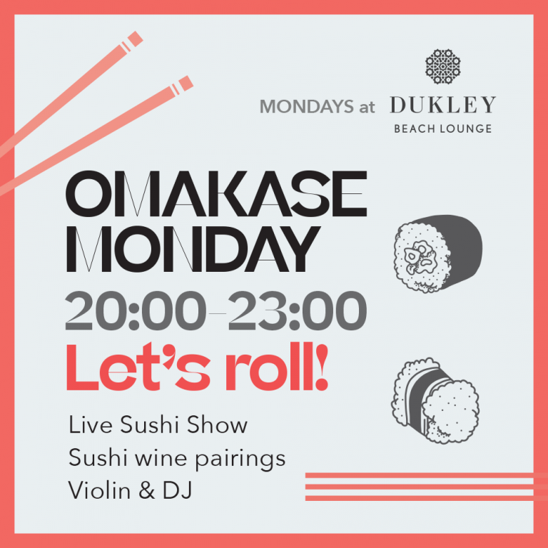 MONDAYS at Dukley Beach Lounge​